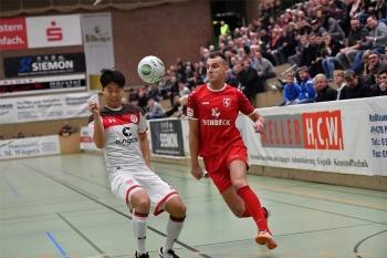 Spielszene St. Pauli- Hamm 2018